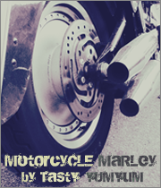 Motorcycle Marley by Tasty Yumyum